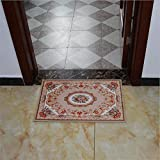Weiwei Teppich Fußmatte Chemie-Faser Fußmatte Wohnzimmer rutschfeste Fußmatte rechteckig Cartoon Fußmatte B