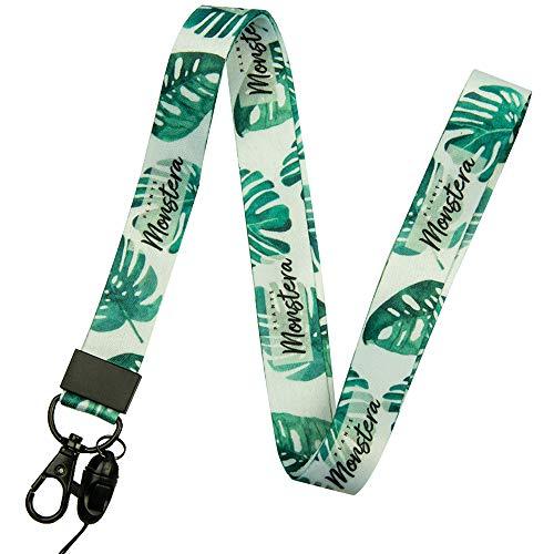 Correa de cuello de correa con la calidad, la impresión a doble cara en color y ideal para las llaves de insignia de identificación móvil MP3USB Holder
