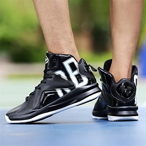 Scarpe da basket outdoor Scarpe da Ginnastica Uomo Donna Running Sportive Basket Basse Sneakers black and white