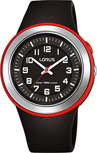 Lorus Unisex Analogue Quartz Watch with Silicone Strap R2303MX9