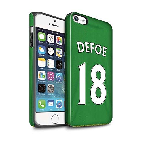 Offiziell Sunderland AFC Hülle / Matte Harten Stoßfest Case für Apple iPhone SE / Pack 24pcs Muster / SAFC Trikot Away 15/16 Kollektion Defoe