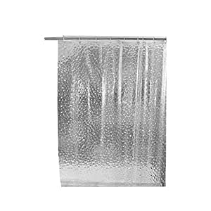 1.8*1.8m Moldproof Waterproof 3D Thickened Bathroom Bath Shower Curtain Neu