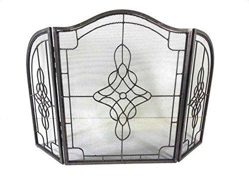 Decorative in peltro filigrana Griglia 3Fold Parascintille