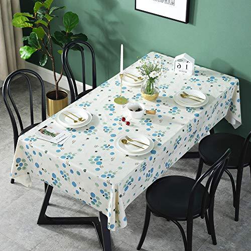 REDWPQ Resistente Al Agua Anti-Planchado De Manteles Sin Aceite De PVC 45x100cm PVC Small Lango