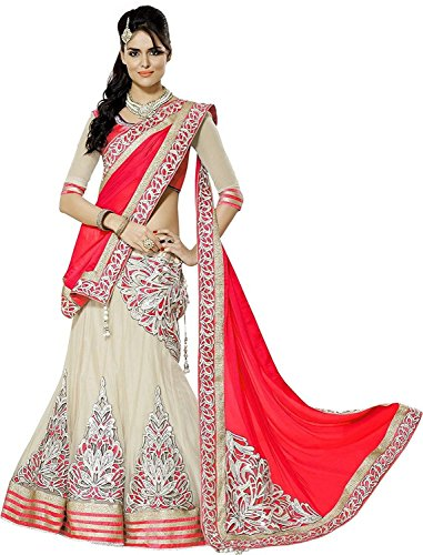 TexStile Women\'s Work Semi Stitched Lehenga Choli