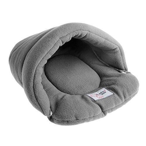 Kofun Nest Mat Pad Kissen Katze Hund Weich Warm Haustier Bett Haus Plüsch Weich Gemütlich Grau Klein