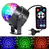 Lampada Magica RGB Lampada da Discoteca Luci da Palco Sfera da Discoteca Rotante per KTV, Discoteca, Festa, Natale, Bar, ecc (3 Colori)