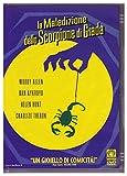 Locandina La maledizione dello scorpione di giada 1^ MEDUSA OLOGRAMMA ARGENTO
