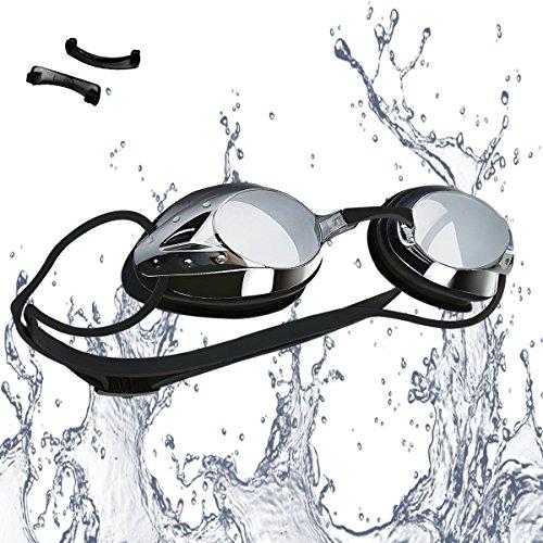 Occhialini da Nuoto, Anti-Appannamento Occhiali da Nuoto Agonistico Protezione UV...