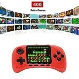 Lychee Mini Retro Handheld FC Consola de Juegos Portátil / 400 Juegos Clásicos / Pantalla LCD de 3 Pulgadas HD / Salida de TV, Cumpleaños para Niños/Adultos