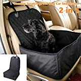Best Dog Car Seats Covers - Dog Car Seat Cover 2 in 1 Nonslip Review