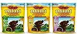 Zuke's Mini Naturals Healthy Moist Dog Training Treats 3 Flavor Variety Bundle: (1) Zuke's Mini Naturals Healthy Moist Roasted Chicken Recipe, (1) Zuke's Mini Naturals Healthy Moist Wild Rabbit Recipe, and (1) Zuke's Mini Naturals Healthy Moist Delicious Duck Recipe, 6 Oz. Ea. (3 Bags Total) by Zuke's
