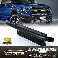 Xprite Bull Bar stile Paraurti Anteriore Piastra di montaggio per supporto per fuoristrada luci, luci di lavoro a LED, illuminazione a LED Bar (Nero, Universale)