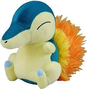 Pokémon Noir et Blanc Peluche / Plush / Figurine: Hericendre 16 cm T.T. (Cyndaquil)