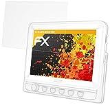 atFoliX Schutzfolie für Tristan Auron BT2D7010 Displayschutzfolie - 2 x FX-Antireflex blendfreie Folie