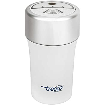 Treeco TC-108 Car Air Purifier with Hepa filter, Ionizer and Activated Carbon filter