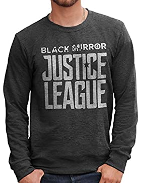 Felpa Girocollo BLACK MIRROR JUSTICE LEAGUE - FILM by Mush Dress Your Style