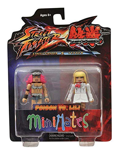 Minimates: Street Fighter X Tekken Series 1 Poison vs Lili