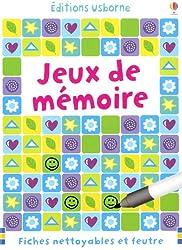JEUX DE MEMOIRE