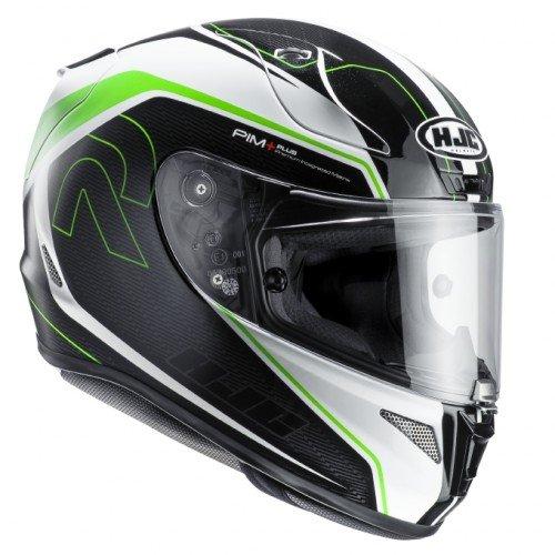 HJC Rpha 11Darter MC4motocicleta cascos, verde, tamaño M