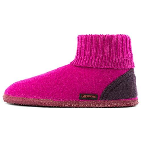 Giesswein Unisex-Erwachsene Kramsach Adults Hohe Hausschuhe,Pink(Beere),39