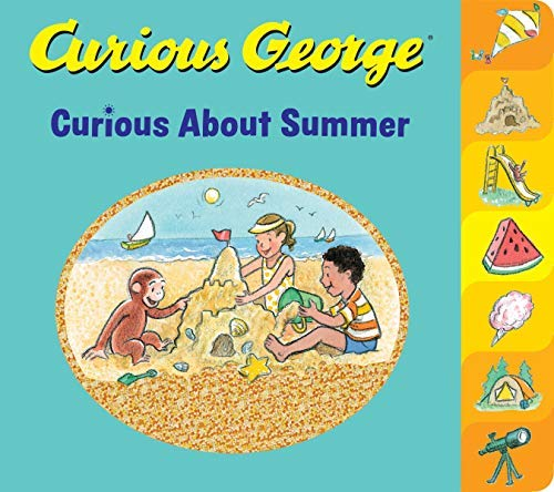 Curious George Curious About Summer (English Edition)