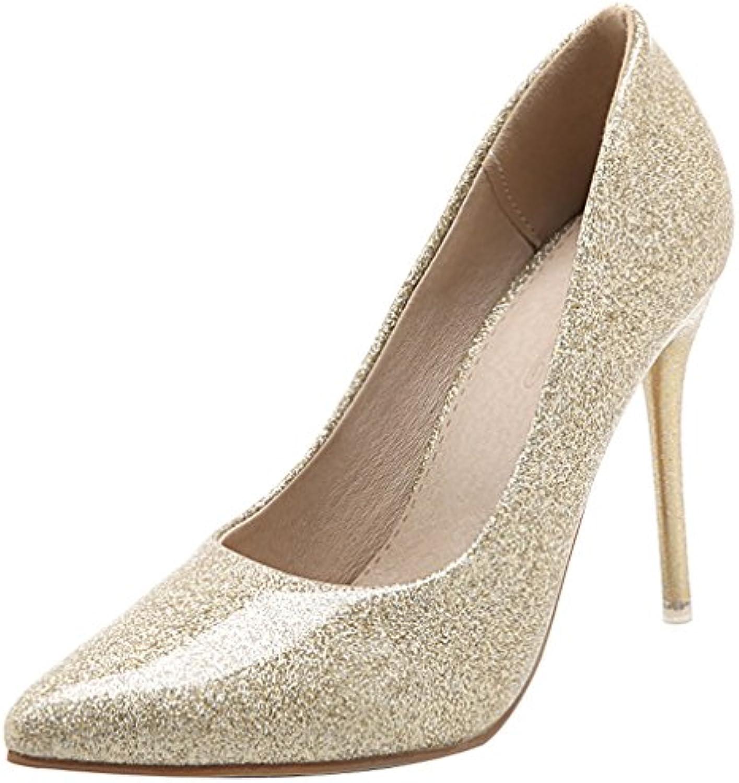 Calaier Femme Aiguille Jtabt 10CM Aiguille Femme Glisser Sur Escarpins ChaussuresB072PXT8L3Parent 3c7430