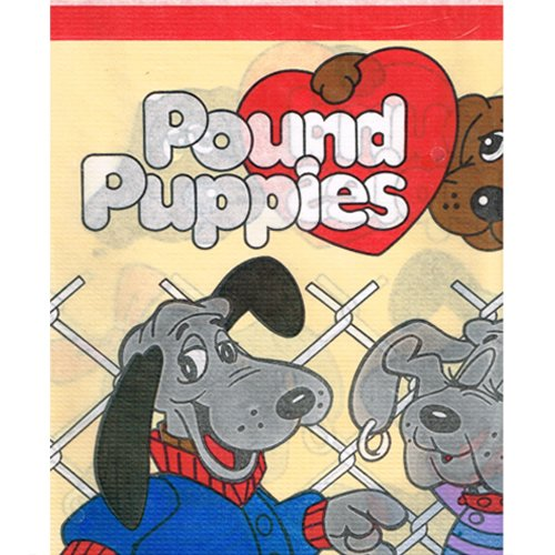 pound-puppies-vintage-1986-paper-table-cover-1ct