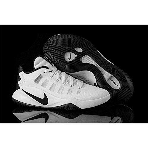 Nike Nike Hyperdunk 2016 Low, espadrilles de basket-ball homme Blanco (Blanco (white/black))