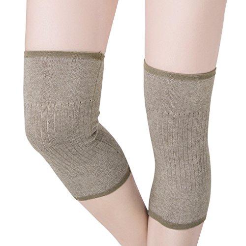 Anti Rutsch Kniebandage, Outdoor Sport Thermal Knie Wärmer Pad Brace Stützband Wrap Knee Schmerzenlindernung Kompression Wunde Arthritische Knie Ärmel