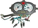 Xfight-Parts Tachometer komplett 0-140 km/h 4Takt 125ccm YY125T-28 AGM Fighter 125 YY125T-28