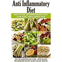 Anti Inflammatory Diet: How to Fight In Inflammation with Diet, Slow Aging, and Eliminate Pain