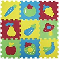 LUDI Basic Fruit Themed Foam Mat