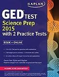 Best 2015 Ged Libros - Kaplan GED Test Science Prep 2015: Book + Review