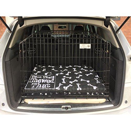 Pet World - Gabbia per Bagagliaio Auto per Audi Q7 SUV dal 2004 in Poi