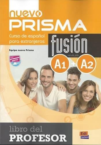 nuevo Prisma Fusión A1+A2 Lib. profesor