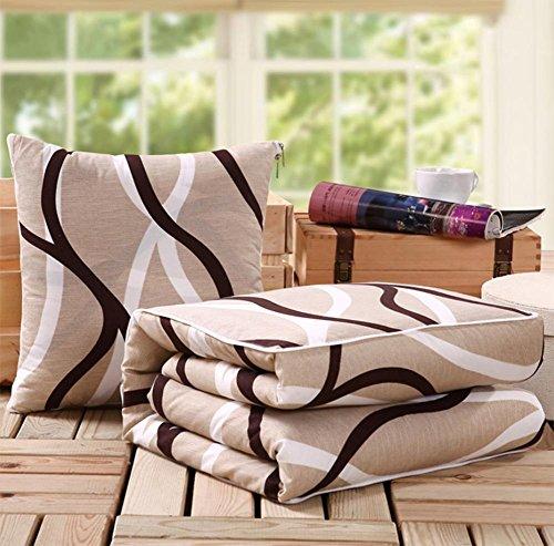 ZDBZ cuscino multifunzionale, trapunte, cuscini erano, automobili, divano con il pranzo in ufficio cuscino pausa aria condizionata, ampio pacchetto , S , 4