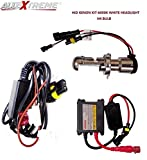 #5: AllExtreme HID Xenon kit 6000K Conversion Kit H4 Headlight Lamp Bulb for Bikes Maruti Suzuki Swift Dzire Cars (12V, 55W)