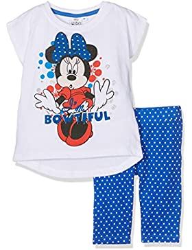 Disney Minnie Mouse, Set Abbigliamento Sportivo Bambina