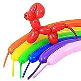 Oyfel lungo palloncini per feste compleanno matrimonio 100pcs colore casuale