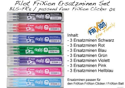 pilot-tintenroller-frixion-ersatzminen-set-fur-frixion-clicker-05-7-x-3er-sets-minen-in-allen-farben
