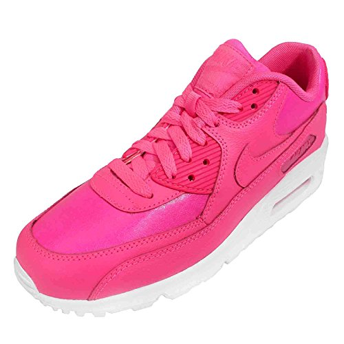 Nike  NIKE AIR MAX 90 LTR (GS), Sneakers basses femmes Pink Pow/Pink Pow/White