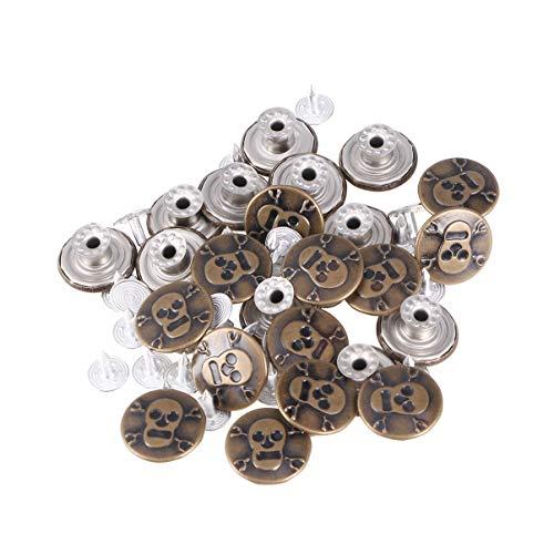 Healifty Kit de reemplazo de Botones a presión de Botones de...
