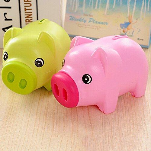Jiamins plástico Hucha Moneda Dinero Efectivo Ahorro
