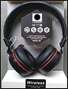 MIRZA Bluetooth HeadPhones for ASUS ZENFONE 4 (Bluetooth Headphone|| Sports Headphone|| Wire less Headphone||Exra Bass || Exercise Phone || Gym HeadPhone || With Mic || With FM || MS 771 C)