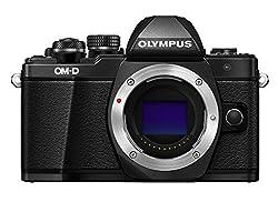 Olympus Om-d E-m10 Mark Ii Compact System Camera Body In Black