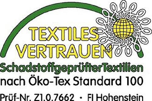 200 x 200 cm Badenia Bettcomfort Steppbett Irisette de luxe Mono, weiß – verschiedene Größen - 6