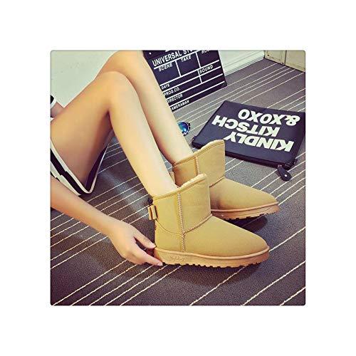 Cute Cat Warm Boots Women Family Christmas Cotton Winter Shoes Women Boot (High Website Monster)
