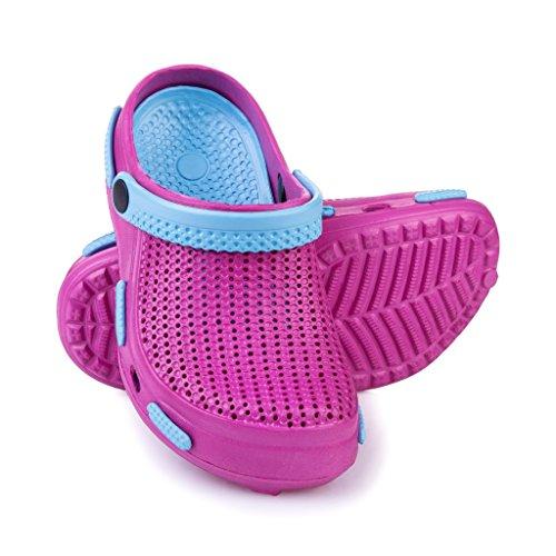 Spokey ciabatte per bambina tipo crocs per piscina/mare antiscivolo fliper