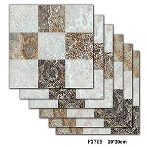 AKLIGSD Fliesenaufkleber 3D Wandtattoo Marmormuster, 20X20Cm / 24pcs Wallpaper Dekoration Für Badezimmer Esszimmer Küche Hotel